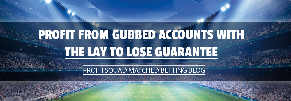 lay to lose guarantee matched betting