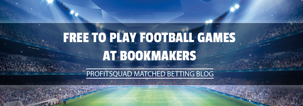 Free to play football games at bookmakers