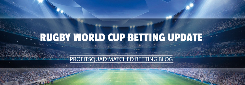 Rugby World Cup Betting Update