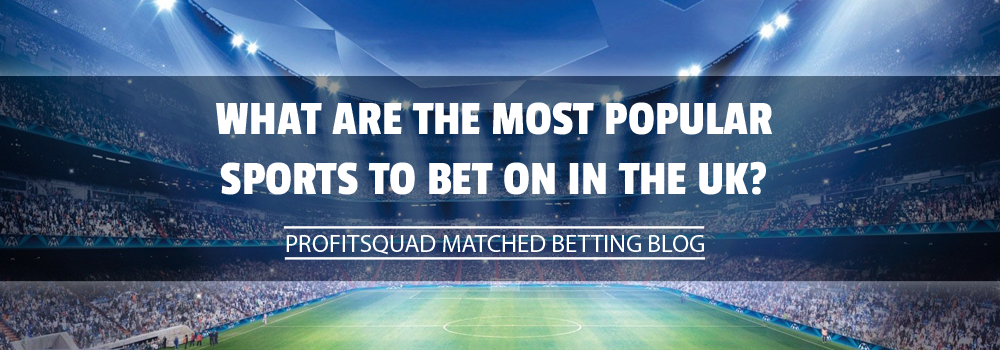 What Are The Most Popular Sports To Bet On In The UK?